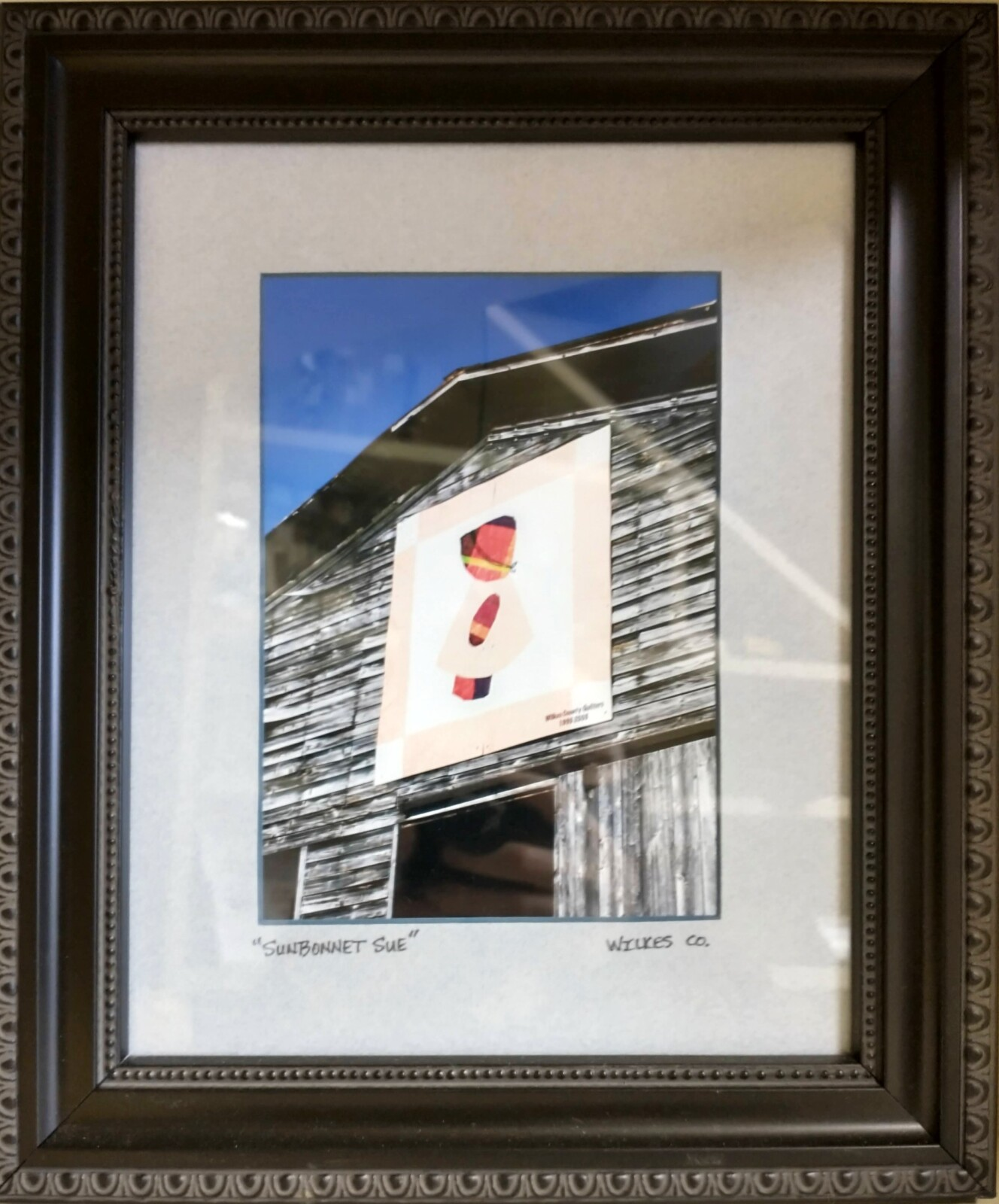 Sunbonnet Sue Barn Photograph