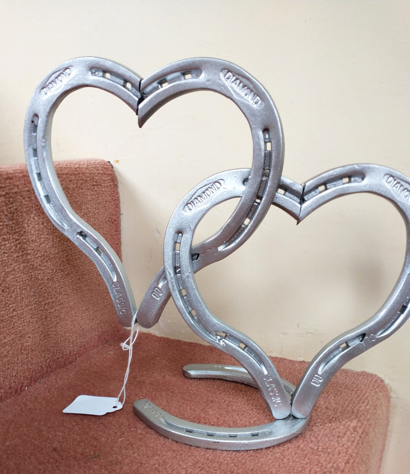 Horseshoe Hearts Figure