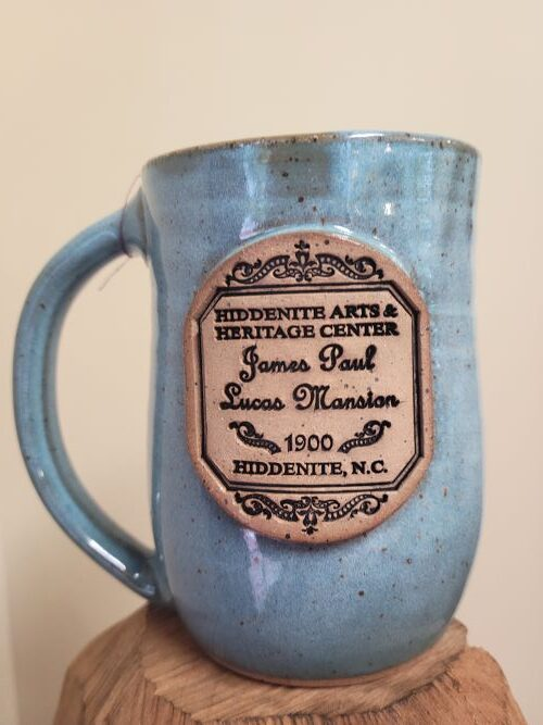 Lucas Mansion Pottery Mug
